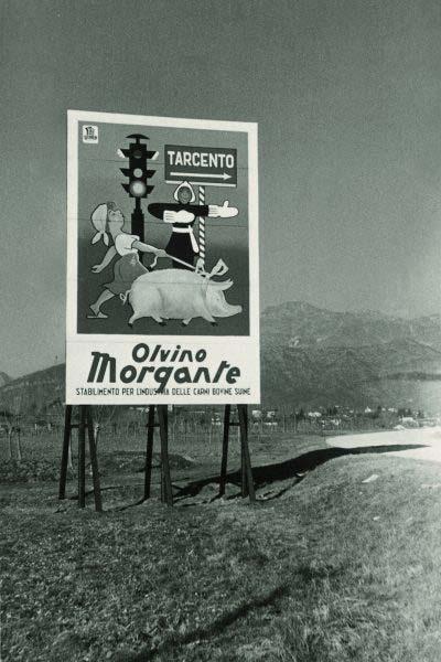 Cartello storico Morgante
