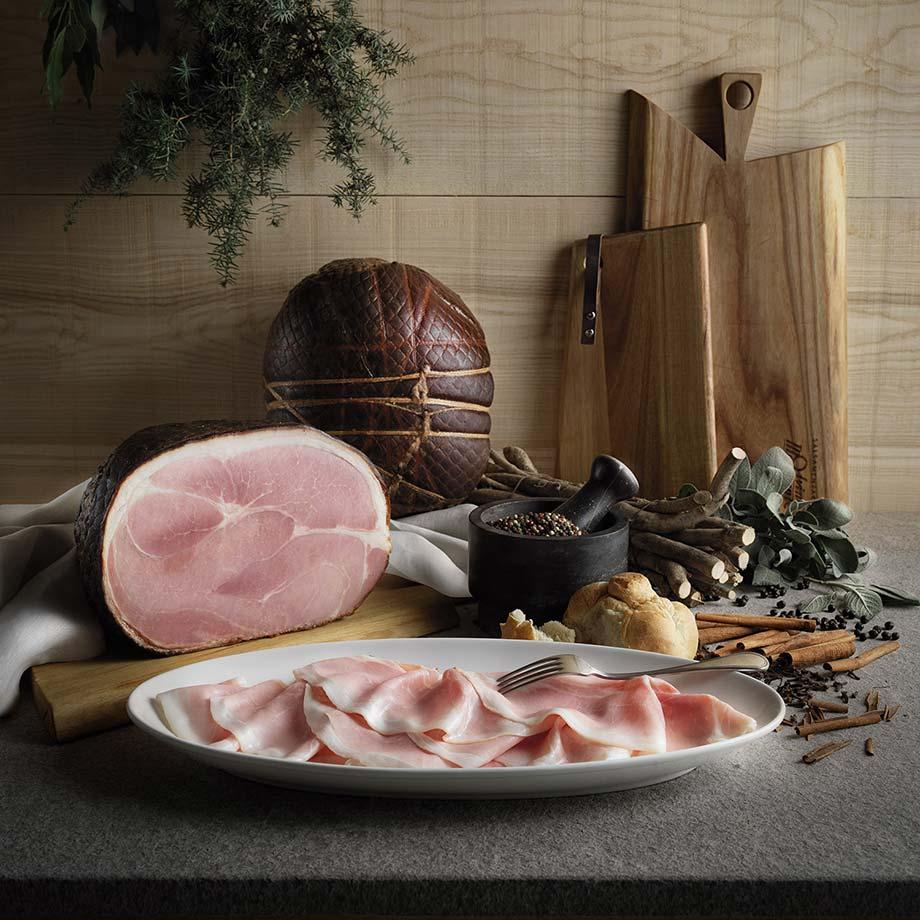 Il prosciutto cotto Morgante